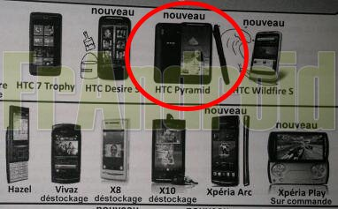 HTC Pyramid - we Francji