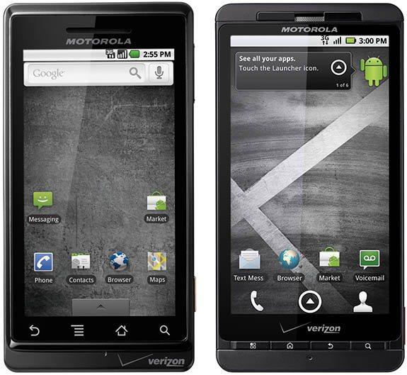 Motorola Droid2 i DroidX