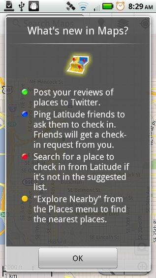 Google Maps 5.2