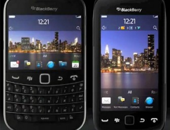 BlackBerry Bold Touch 9930, Touch 9850 Monza (wideo)