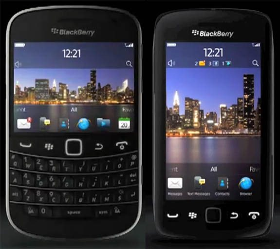 BlackBerry Bold Touch 9930, Touch 9850 Monaco