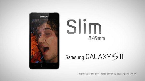 Samsung Galaxy S II - reklama