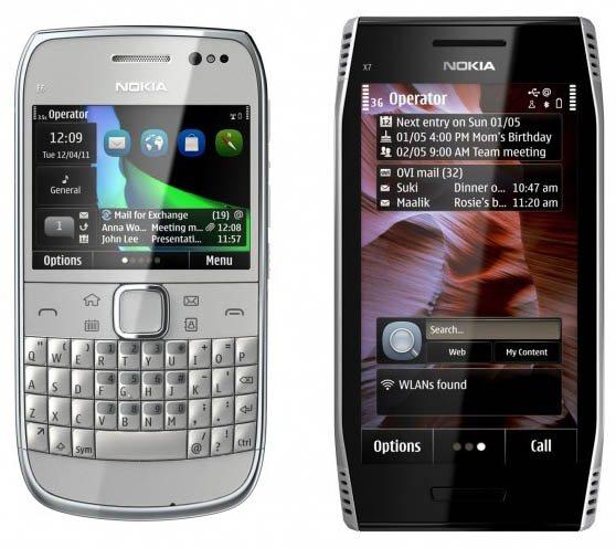 Nokia X7 i E6