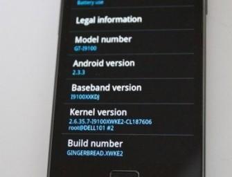 Dwa uaktualnienia dla Galaxy S II