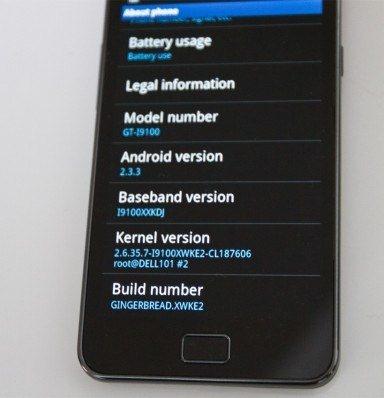 Samsung Galaxy S II - dwie poprawki