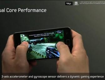 12-minutowa oficjalna prezentacja Samsunga Galaxy S II
