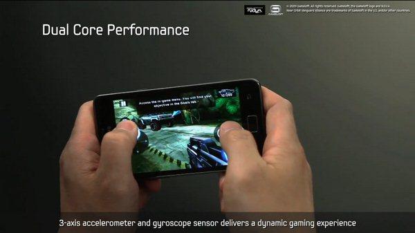 Samsung Galaxy S II - oficjalna prezentacja wideo