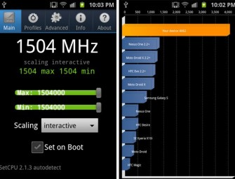 Samsung Galaxy S II podkręcony do 1.5GHz