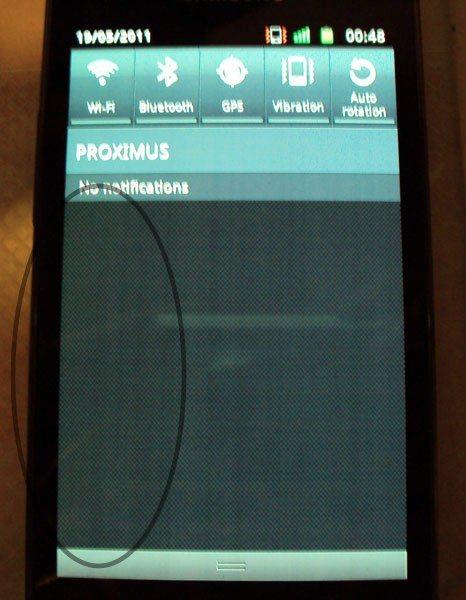 Samsung Galaxy S II - wada