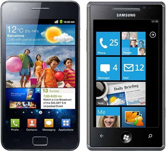 Samsung SGSII i Omnia7