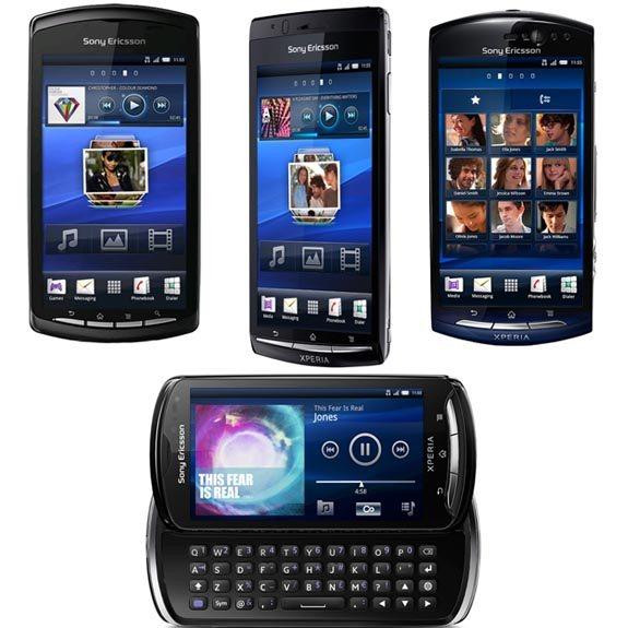 Sony Ericsson Xperia - linia