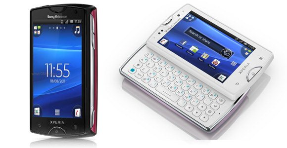 Sony Ericsson Xperia mini i mini pro