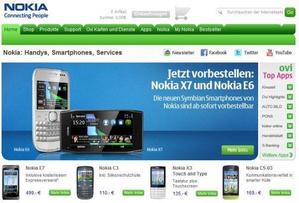 Nokia X7 i Nokia E6