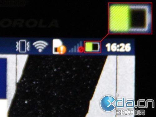 Motorola Milestone 3 - PenTile