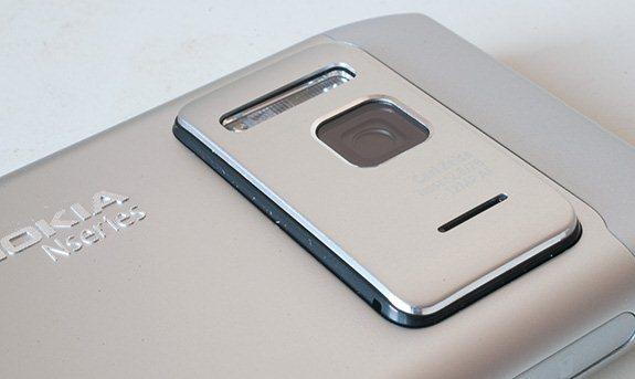 Nokia N8 - kamera