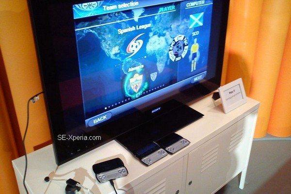 Sony Ericsson Xperia Play - wyjście HDMI