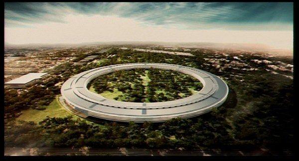 Apple - nowa siedziba