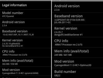 Będzie CyanogenMod dla HTC Sensation i LG Swift 3D