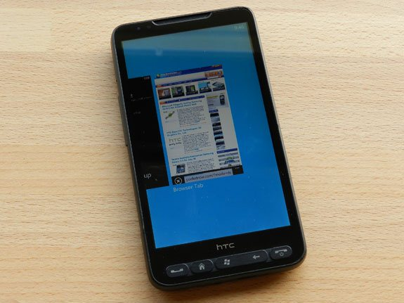 HTC HD2  - Windows Phone Mango