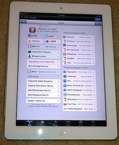 JailbreakMe - iPad 2