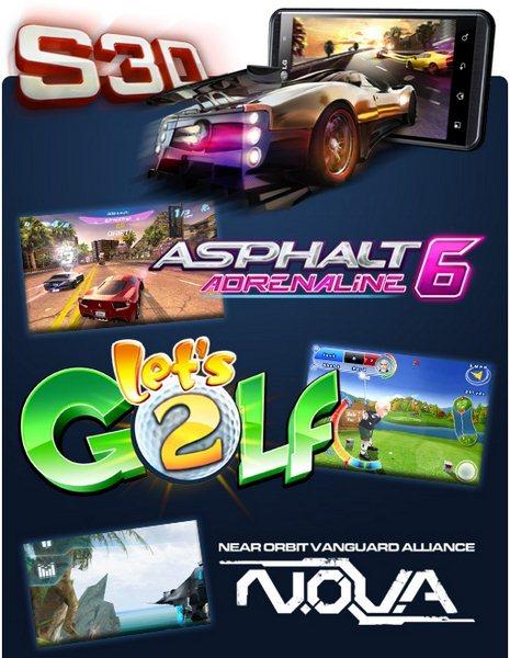 LG Swift 3D - gry 3D