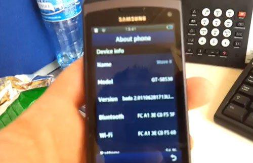 Samsung Wave II Bada 2.0.1
