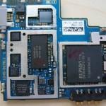Sony Ericsson Xperia Ray - płyta główna