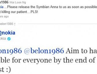 Nokia potwierdza – aktualizacja do Symbian Anna pod koniec sierpnia