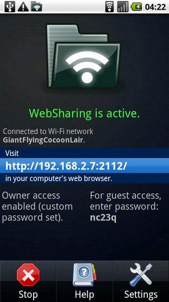 WebSharing