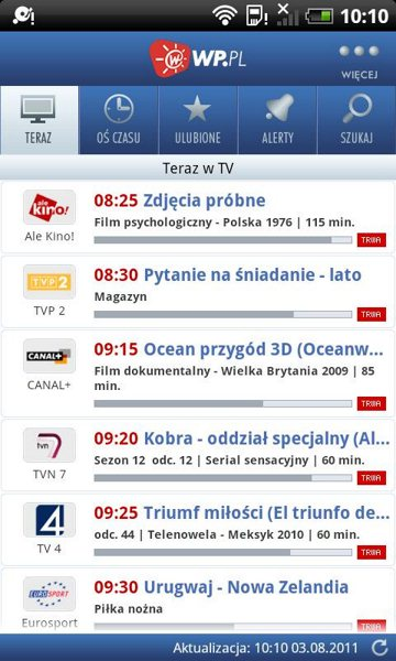 Android - Program TV