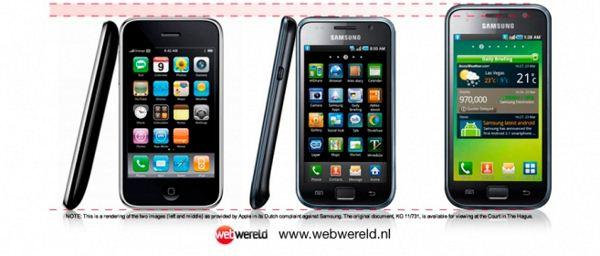 Apple iphone vs galaxy