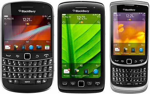 BlackBerry Torch i Bold