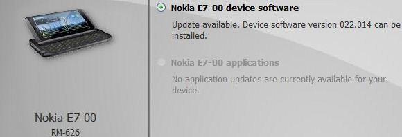 Nokia E7 - aktualizacja Symbian Anna