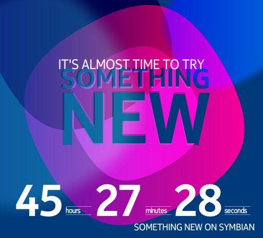 Nokia - odliczanie - Symbian