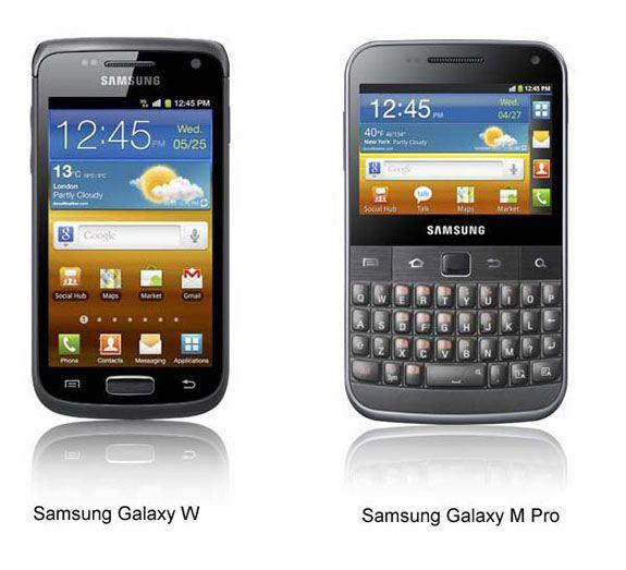 Samsung Galaxy W, Galaxy M Pro