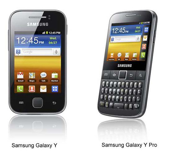 Samsung Galaxy Y, Galaxy Y Pro