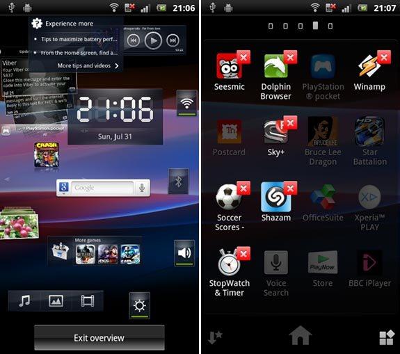 Sony Ericsson Home Launcher