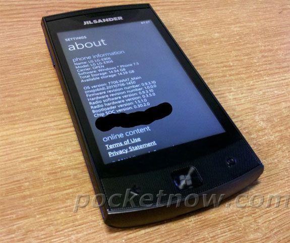 LG Jil Salander E906