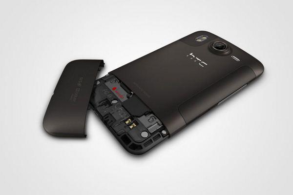 HTC Desire HD - obudowa