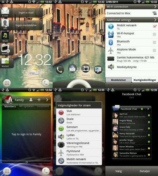 HTC Sense UI 3.5 na Desire HD