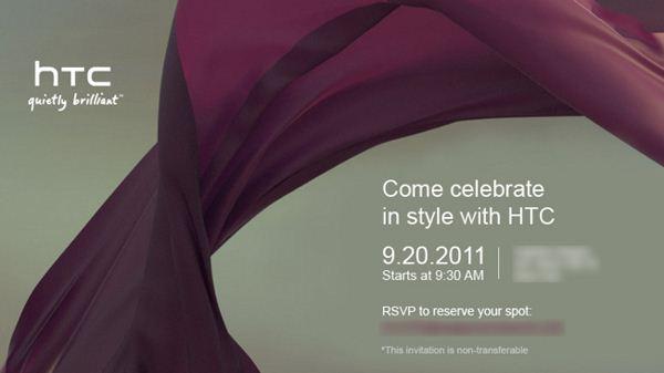 HTC - zaproszenie