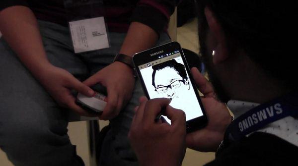 Samsung Galaxy Note - używanie rysika