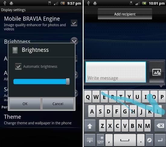 Sony Ericsson Xperia Play i Arc - Android 2.3.4