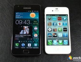 iPhone 4S szybszy od Galaxy S II, czy na pewno? (wideo)