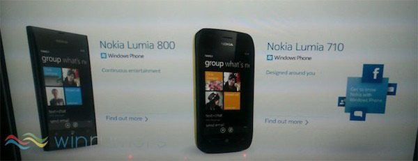 Nokia Lumia 800, 710