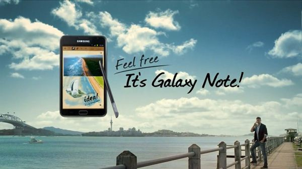 Samsung Galaxy Note - reklama