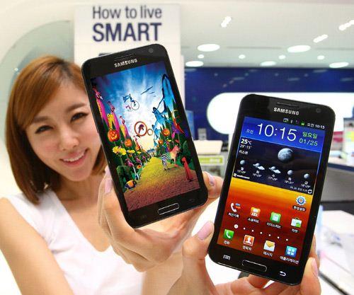 Samsung Galaxy S II HD LTE - Korea
