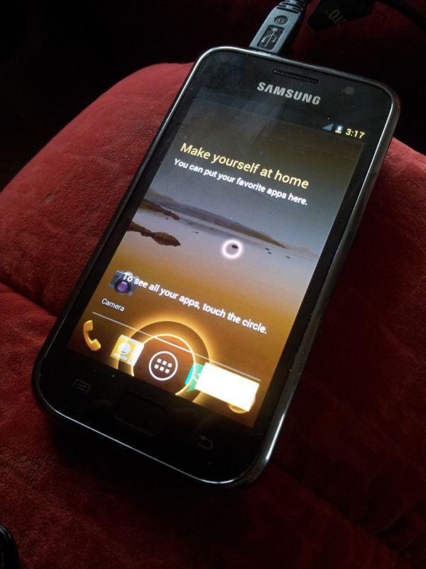 Samsung Galaxy S - ICS