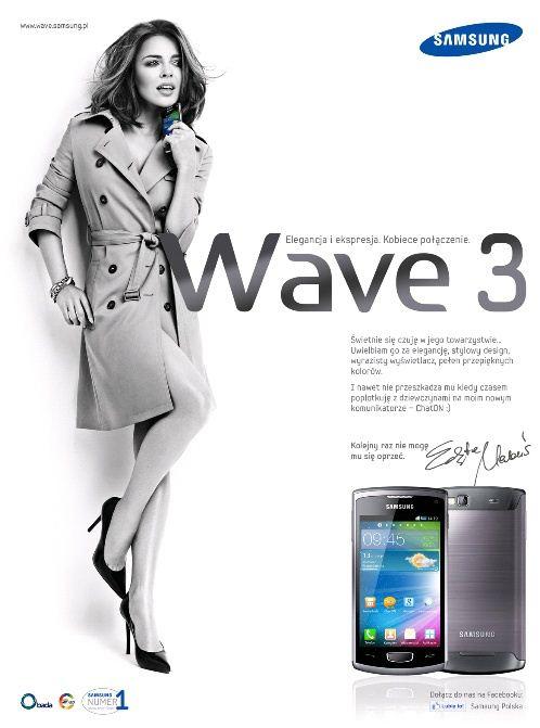 Samsung Wave 3 - Herbuś