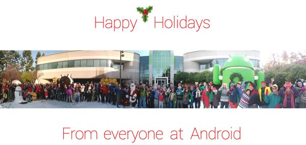 Android - Życzenia